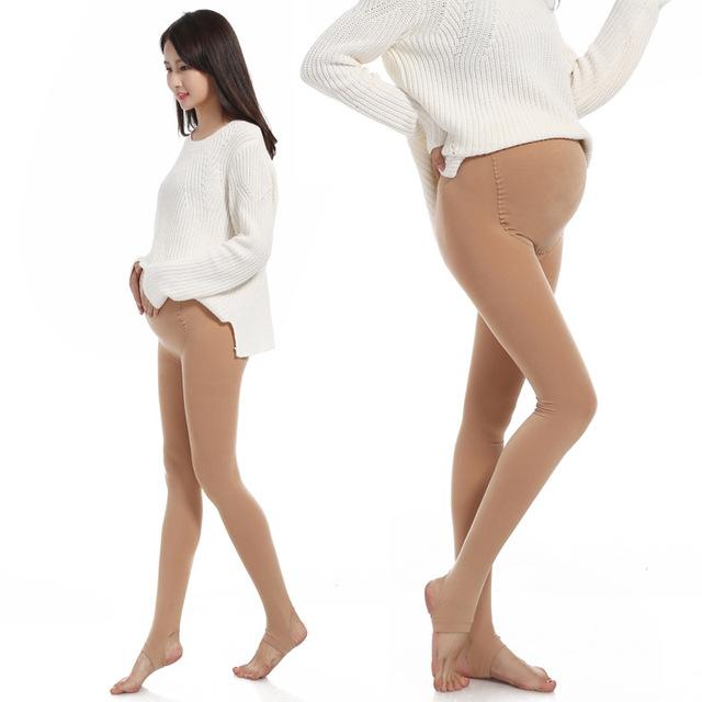 2016 Outono Nova Moda Calças Barriga Cuidados de Maternidade Leggings Roupas Para Mulheres Grávidas Plus Size Leggings Quentes de Maternidade Gravida