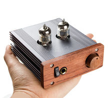 2017 Latest Douk Audio Hand made Single-ended Class A 6J1 Tube Amplifier Headphone amp Audio HiFi Pre-amplifier Free Shipping