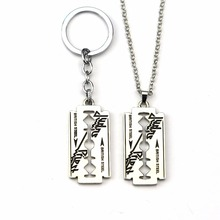 New fashion Judas Priest Band Silver Color Tone Blade Pendant Necklace For Women Men Gift