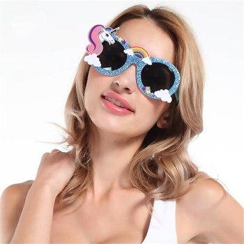 Модные очки единорог Star Love