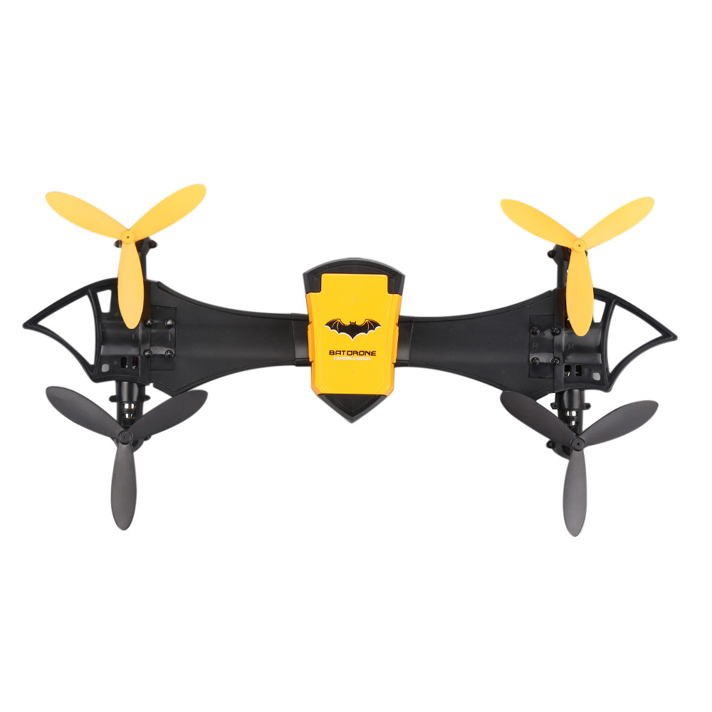 CHEERSON CX - 70 BATDRONE RC Quadcopter Drone RTF Wearable Wrist Watch WiFi FPV One Key Takeoff, One Key Landing Yellow Drones f04305 sim900 gprs gsm development board kit quad band module for diy rc quadcopter drone fpv