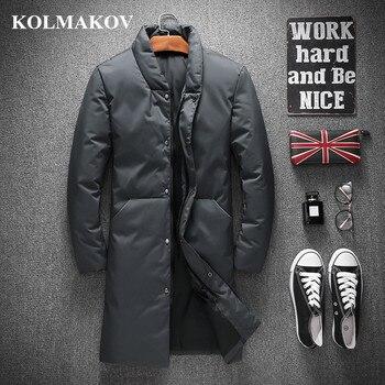 KOLMAKOV Hommes Vêtements 2018 nouveauté Canard Manteaux pour Hommes Hiver Épaissir Hommes Parkas M-4XL décontracté Vestes Masculino