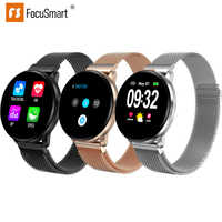 Focusmart 2019 New CF68 Smart Watch Intelligent Reminder Smart Watch Multilingual Word Library Real-time Heart Rate Measurement