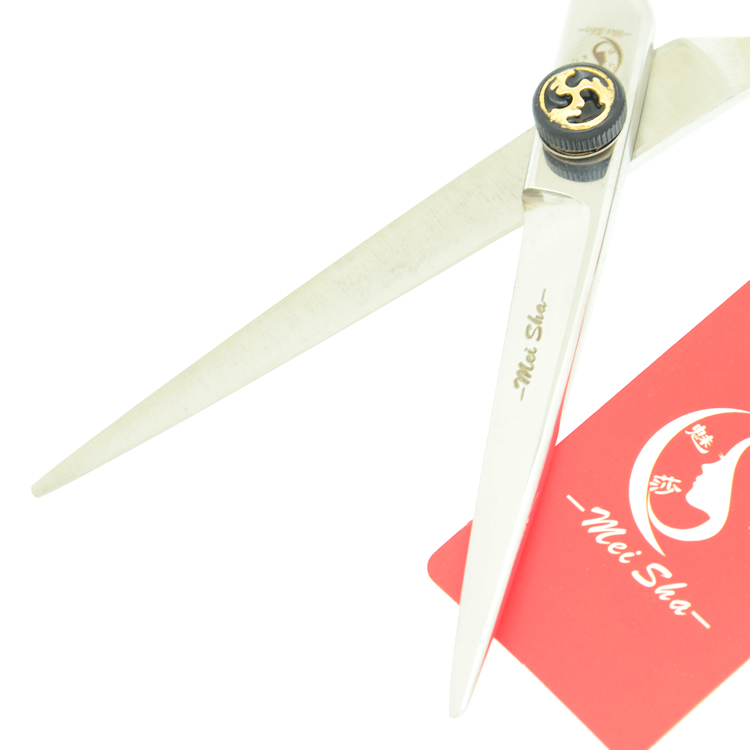 Image 4 - 6.0 Inch Meisha Japan Cutting Scissors Professional Hair Shear for Hairdressing Human Hair Scissors with Flame Screw HA0298-in Hair Scissors from Beauty & Health on AliExpress