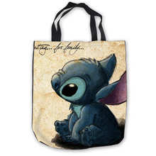 Custom Canvas Stitch (1) Tote Hand Bags Shopping Ba