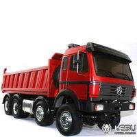 LESU 1/14 Metal Bz 8*8 Hydraulic Dumper RC Truck Model W/ Motor ESC TAMIYA