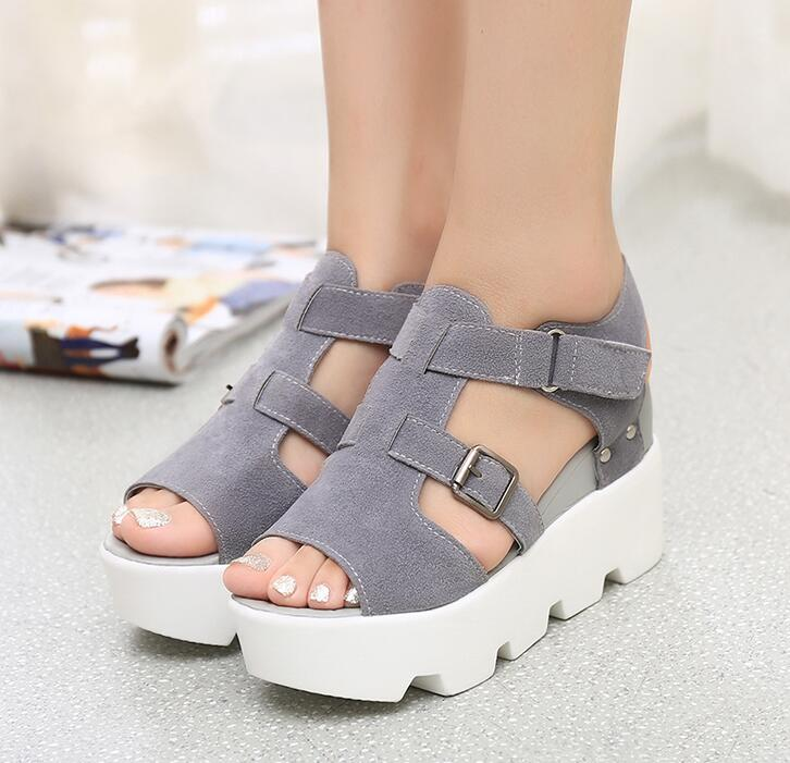 HTB1mbw9j JYBeNjy1zeq6yhzVXaQ 2019 Summer Sandals Shoes Women High Heel Casual Shoes footwear flip flops Open Toe Platform Gladiator Sandals Women Shoes m693