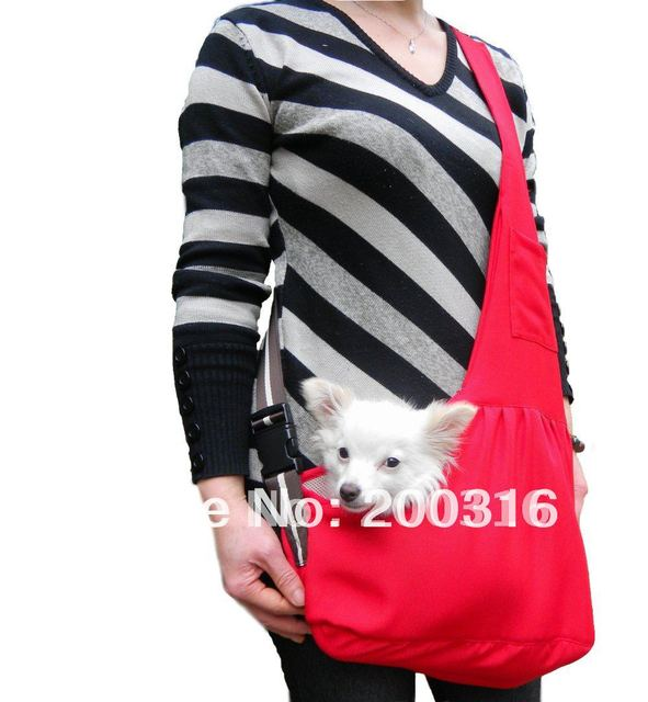 New Pet Sling Carrier Dog Cat Carrier  dog carrier Free Shipping  Retail
