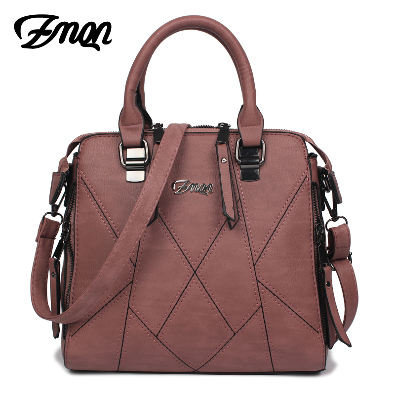 ZMQN Women Handbags Famous Brands 2017 Designer Handbags High Quality PU Leather