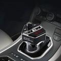 Bluetooth inalámbrico reproductor de mp3 kit de coche transmisor fm reproductor mp3 sd tf dual de carga usb para iphone para ipad # et