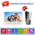 """1v1 10"""" Doorbell Camera Intercom System Video Recording/Picture Taking Door Phone Intercom System 1200TVL Rainproof Camera"""