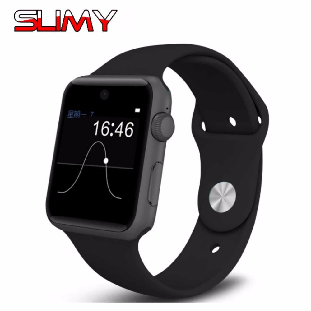 Slimy DM09 Bluetooth Smart Watch Heart Rate HD Screen Support 2G SIM Card Wearable Devices Smartwatch For Apple Android Phones roadtec smart watch gps sport watch bluetooth heart rate monitor smartwatch sim card montre connecte android wearable devices