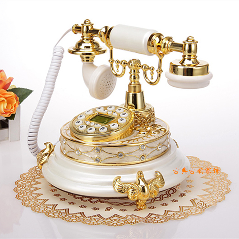 online buy wholesale gold telephones from china gold. Black Bedroom Furniture Sets. Home Design Ideas