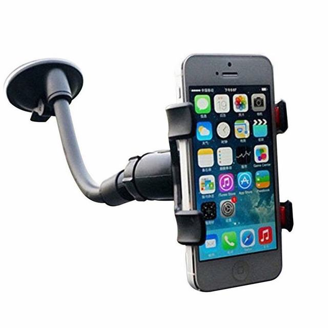 Portefeuille Double Clip 360 Rotating Flexible Car Mount Cell Phone ...