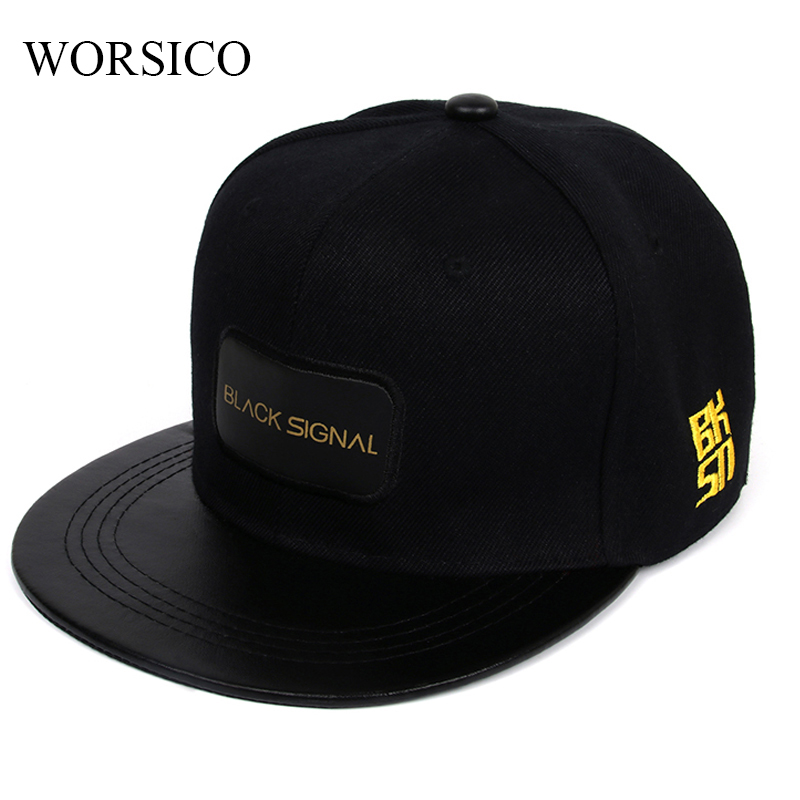 цена на Black Snapback Cap Men Hip Hop Baseball Cap Men Summer Baseball Caps Fashion Hats For Men Women Casquette Bones Gorras Flat 2017