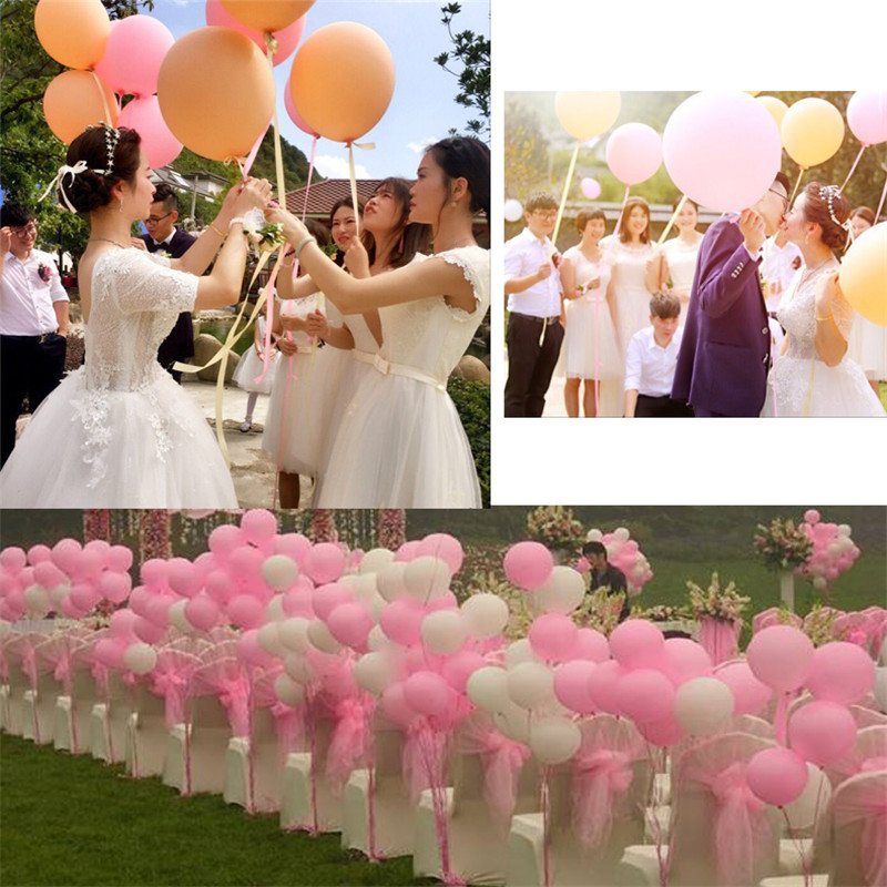 News ballons 18inch big baloon Wedding amp Engagement Valentine 39 s Day decoration 5pcs lot Children 39 s toy 100 latex balloons in Ballons amp Accessories from Home amp Garden