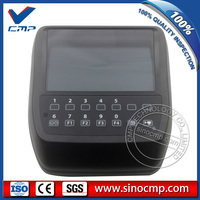 Panel de visualización LCD de excavadora 4684075 para Hitachi ZX135US-3