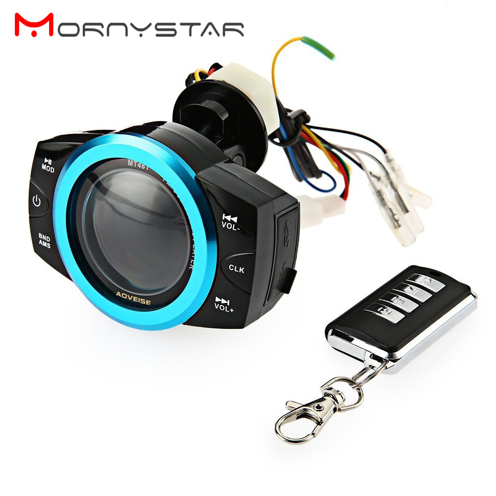 Mp3-Player Audio-Radio Motorcycle Sound Waterproof USB FM MT481 Screen-Display-Support