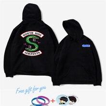 K-pop Riverdale Harajuku Loose Hoodie Sweatshirt Men/Women Autumn Winter Tracksuit Women Oversize