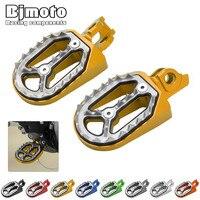 For Suzuki RM250 RM 250 RMZ450 RMZ 450 2010 2015 Motorcycle Pivot Dirt Bike Foot Peg Pedal Footrest Footpeg
