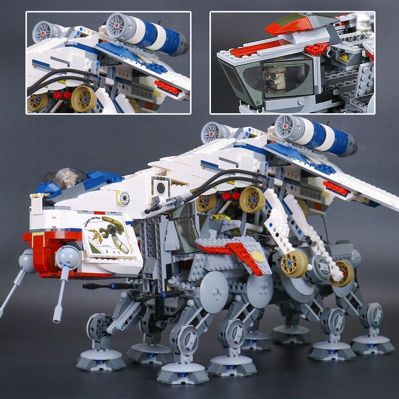 Lepine Serie di Stelle Guerra la Repubblica Dropship Set LegoINGlys Building Blocks Mattoni FAI DA TE Giocattoli Per Bambini Regalo Di Natale lepine 05053