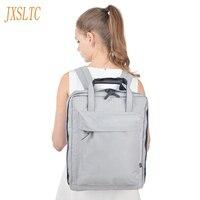JXSLTC Nylon Duffle Bag Men Small Travel Bags Foldable Backpack Big Capacity Weekend Bag Female Packing Cubes Travel back pack