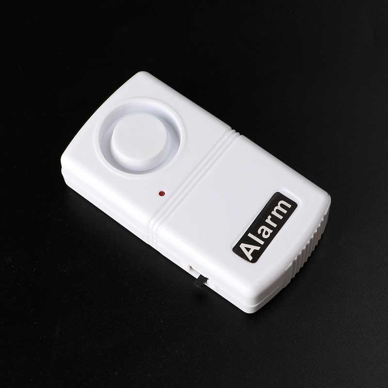 120dB Anti-Theft Security System Vibration Detector Alarm Shock Sensor Wireless Door Window Alarm Home Safety Accessories