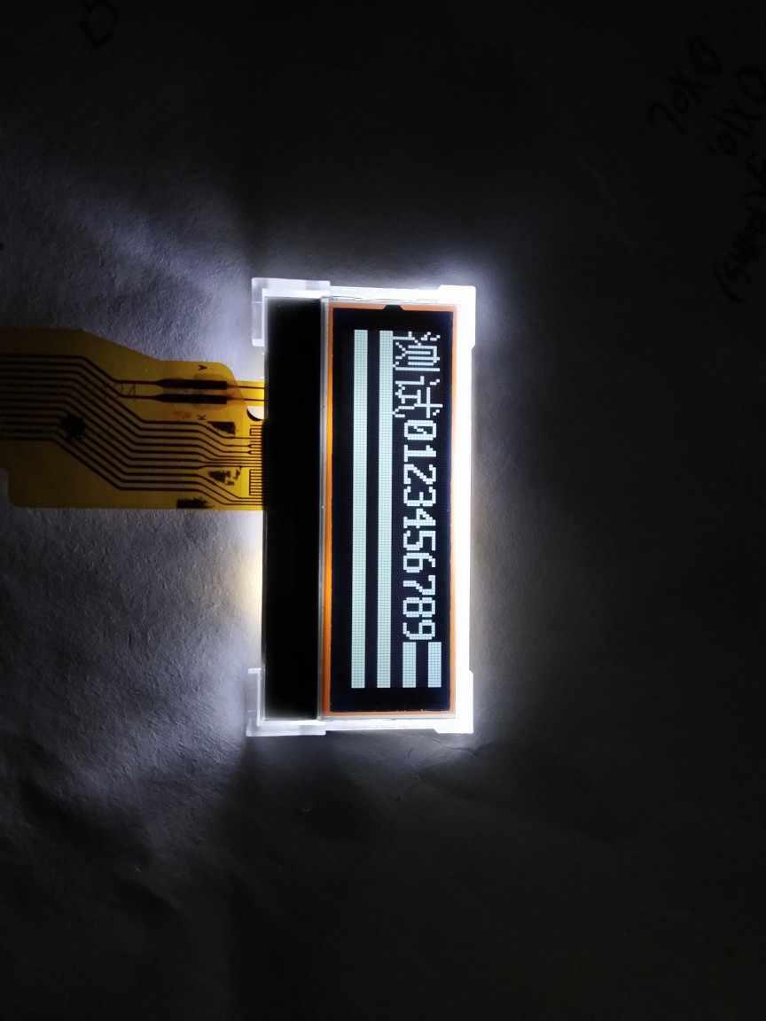 3.3 V 128X32 St7567 Grafis Dot Matrix Fstn LCD Modul Putih Pada Latar Belakang Hitam Paralel atau Seri SPI Port 12PIN Mobil Dll
