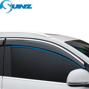 Image 3 - ウィンドウバイザーメルセデス E200L/E300L/E260L 2012 2016 天気シールドのためのメルセデス E200L E300L e260L 2012 2016 SUNZ