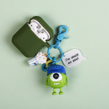 Monsters Inc. University Mike Wazowski Sully Keychain Action Figure Model Toys Dolls Keyring