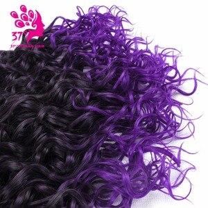 6 шт./лот кудрявые вьющиеся синтетические волосы, 14