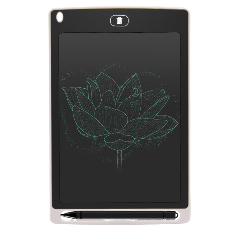 Bulletin Board Mini Blackboard 8.5 Inches LCD Digital Tablet Magnetic Chalkboard For Children Graffiti Flip Chart Writing Boards
