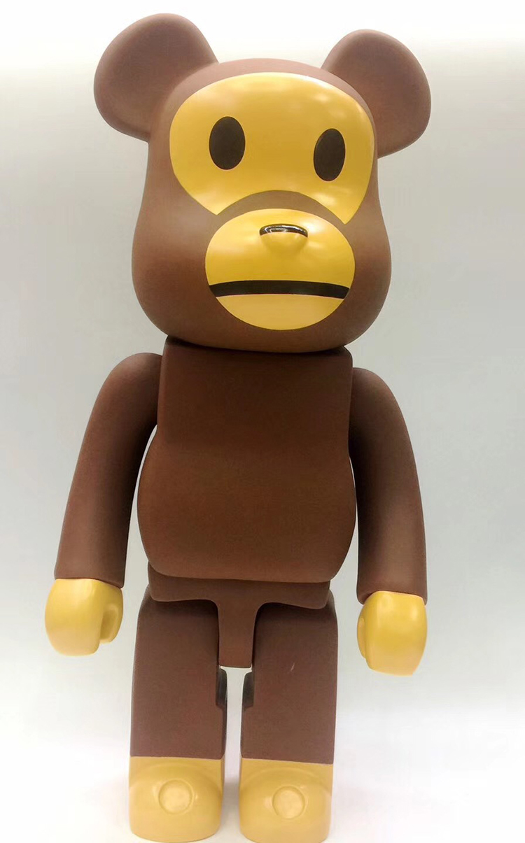 NEW Hot Christmas gift!! 21inch 52cm Bearbrick Be@rbrick  Fashion Toy PVC Action Figure Collectible Model Toy Decoration hot selling oversize 1000% bearbrick luxury lady ch be rbrick medicom toy 52cm zy503