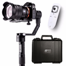 Zhiyun кран 3 Axi Ручной Стабилизатор 3-axi Gimbal для DSLR камер Canon Поддержка 1.8 кг