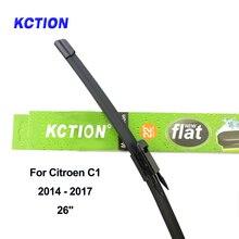 цена на Windshield front wiper blade for Citroen C1 windscreen rear wiper arm fit pinch tab/U hook car accessories car window 2005-2017