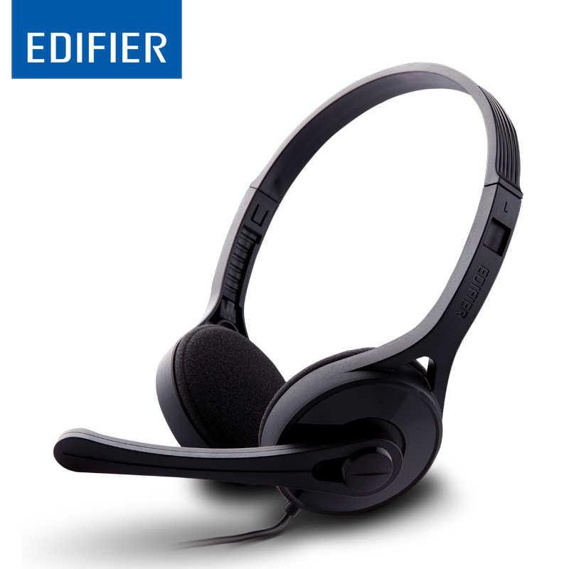EDIFIER K550, że zestaw słuchawkowy wygodne Stereo 3.5mm Over-ear słuchawki z pałąkiem na głowę z izolacją akustyczną i regulacją głośności