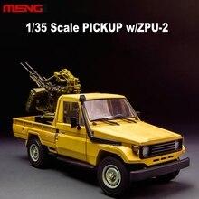 1:35 масштаб сборки модель автомобиля пикап с ZPU-2 модель