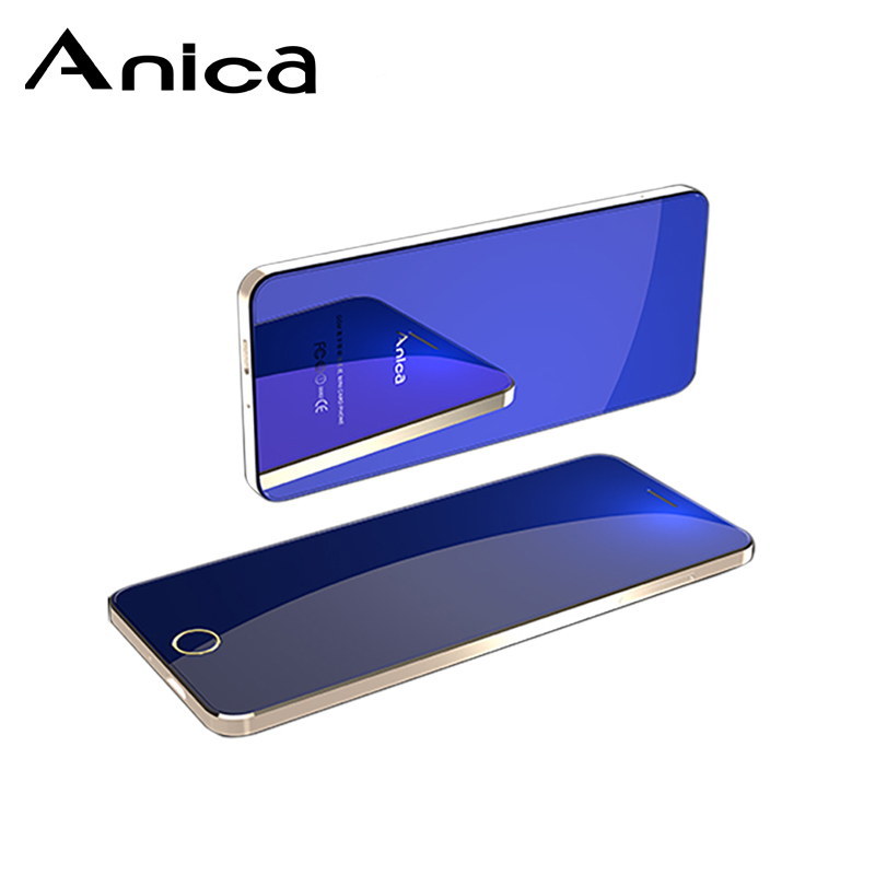 Anica A9 + barato teléfonos móviles desbloqueado 1,54 los teléfonos GSM con quad Core quad bandas bisel menos dual SIM touch clave para las mujeres