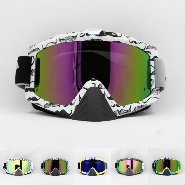 Adult Motorcycle Protective Gears Flexible Cross Country helmet Motocross Goggles Glasses