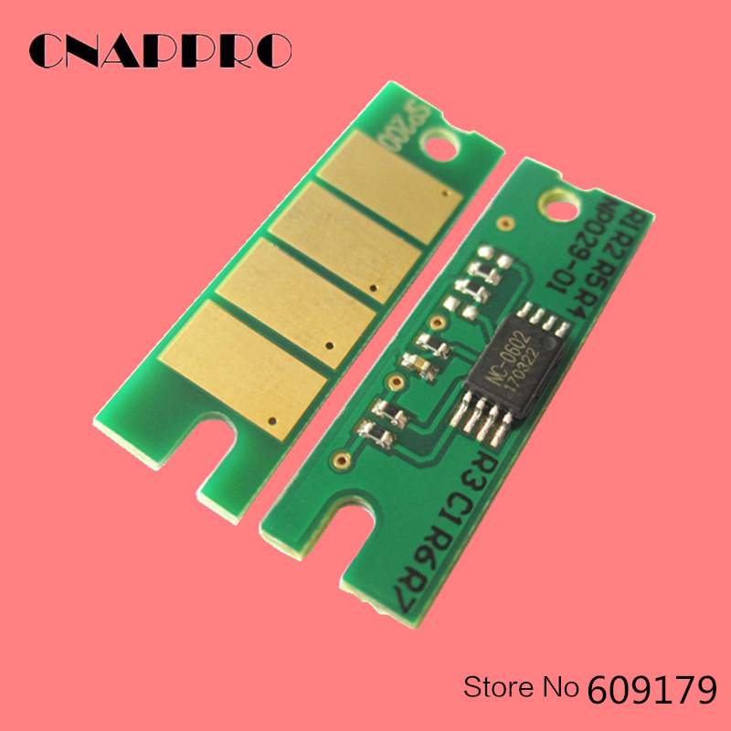 10PCS SP150 408010 Toner Chip For Ricoh Aficio Cartridge SP150w SP150SUw SP150 SP150H SP150su SP 150LE 150SU 150 150H 150w Reset for ricoh sp 311 toner chip toner refill chip for ricoh aficio sp311 sp 311dn 311dnw printer for ricoh 407245 407246 toner chip
