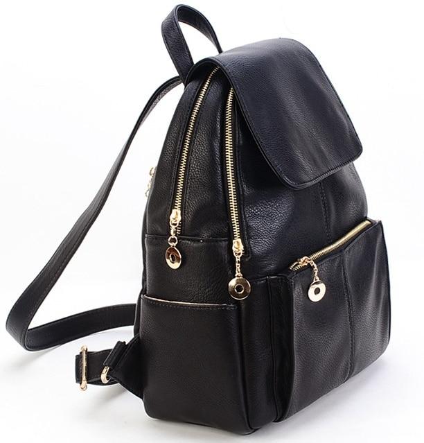 Aliexpress.com : Buy New Korea fashion genuine leather bag women ...