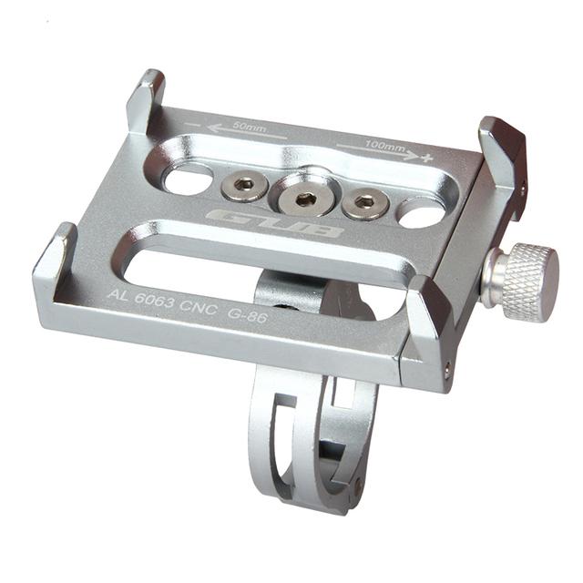 Aluminum mtb Bike bicycle phone holder motorcycle support gps holder for bike handlebar bike accessories