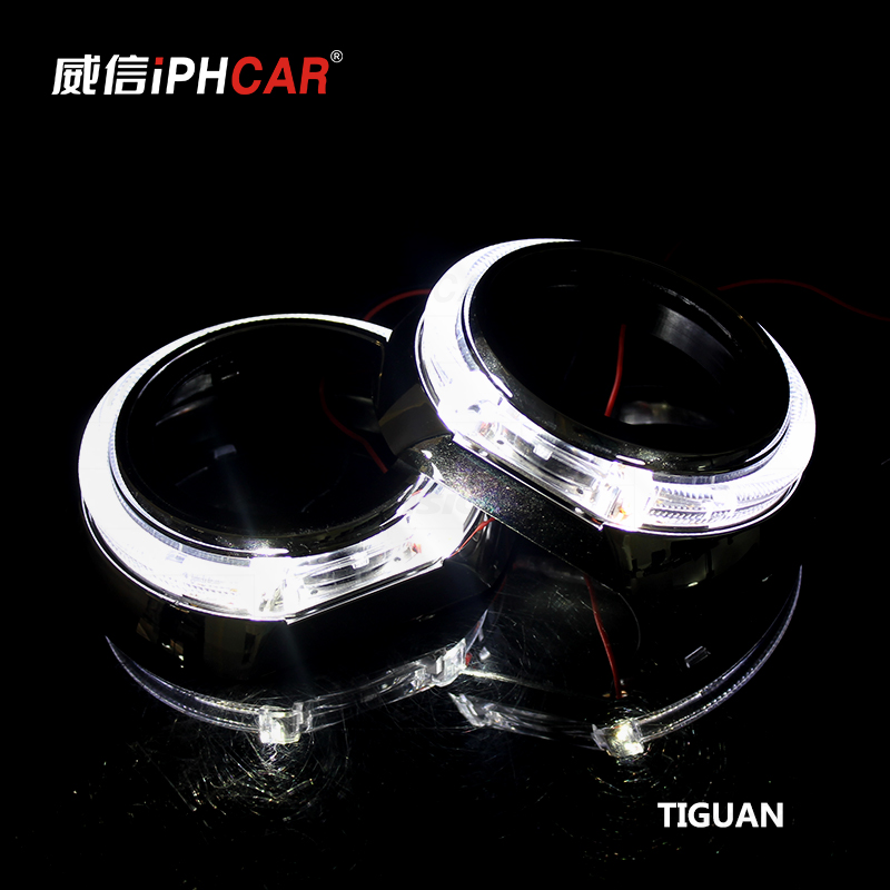 Free Shipping IPHCAR LHD RHD Universal Popular LED Car Light Hid Bi xenon Bulbs Headlight Mini