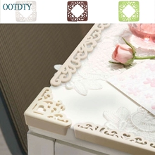 Высокое качество ребенок полый цветок безопасности угол протектор стол бампер для стола край Защитная Подушка#330