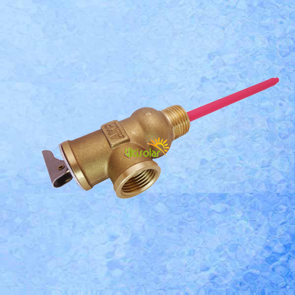 87PSI 210F AKE TP Valve BSP G3/4 Temperature and Pressure Relief Valve as TP Safety Valve 0.6Mpa 99 centigrade 9 25 dia thread yelow rubber head safety pressure relief valve zmm