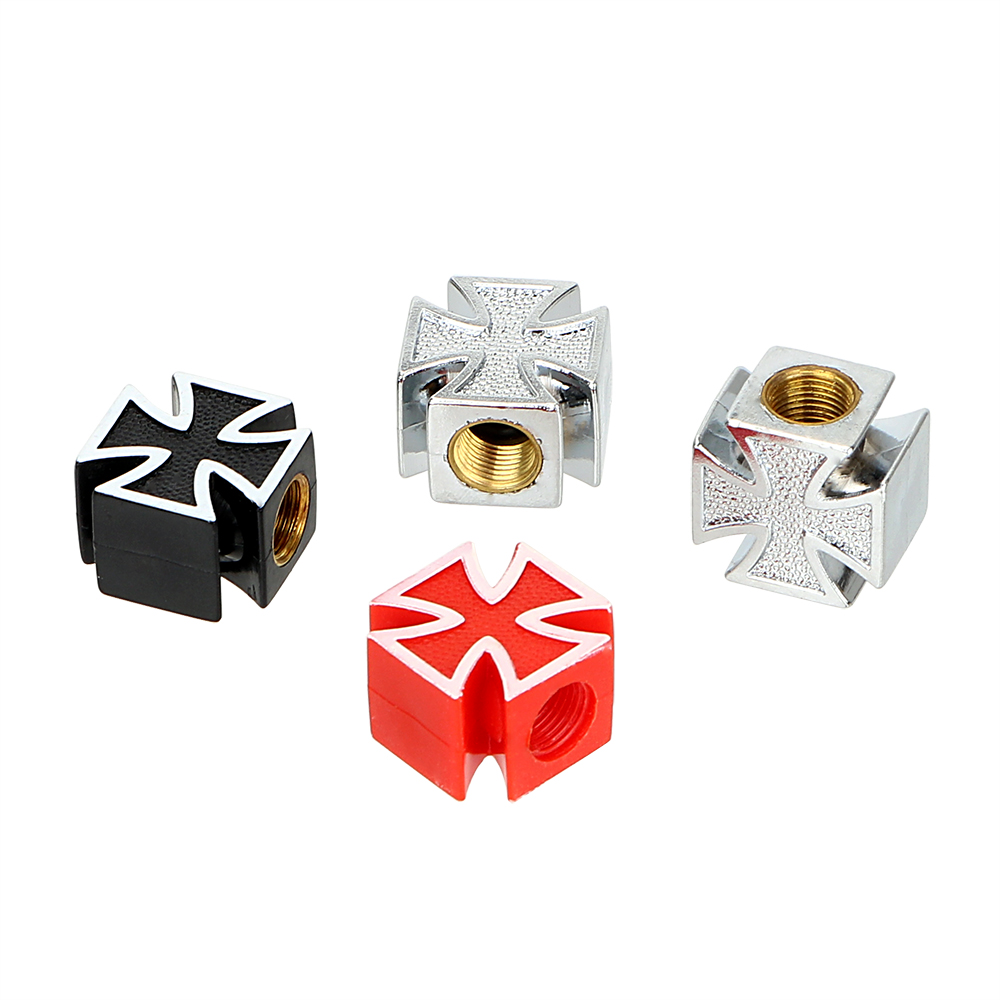 LEEPEE Car Styling 4pcs/lot Universal  Style Car Wheel Tyre Stem Air Caps Car Tire Air Valve Cap  Covers For Bicycle Motorcycle