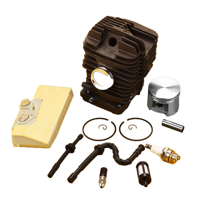 47mm Cylinder Piston Kit & Air Filter Fuel Line for Stihl Chainsaw MS310 MS 310 52mm cylinder piston kit fuel oil line filter for stihl 046 ms460 chainsaw