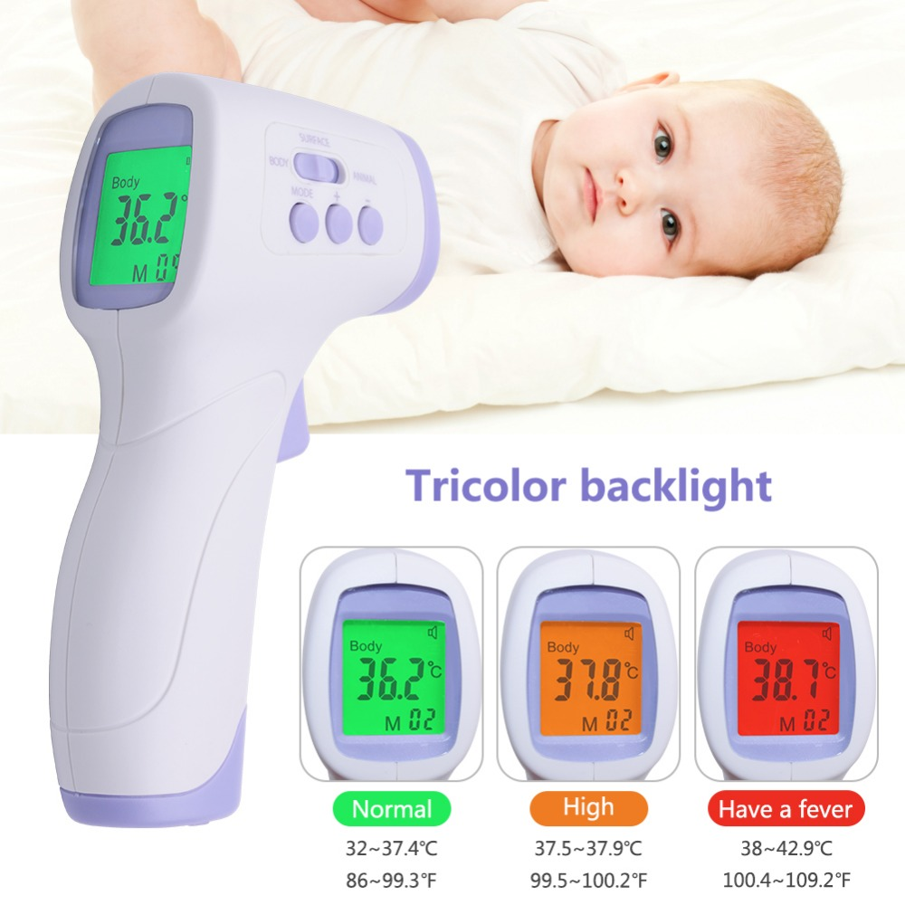 MrY Non-Contact IR Laser Digital Thermometer Infrared Thermometer Humans And Animals Thermometers Termometro Digital Febre