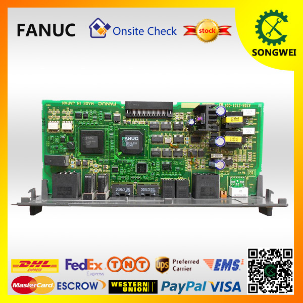 Fnauc A20B 2101 0071 pcb circuit card A20B-2101-0071 cnc control board fanuc pcb circuit a20b 3900 0170 for cnc spindle control daughter board
