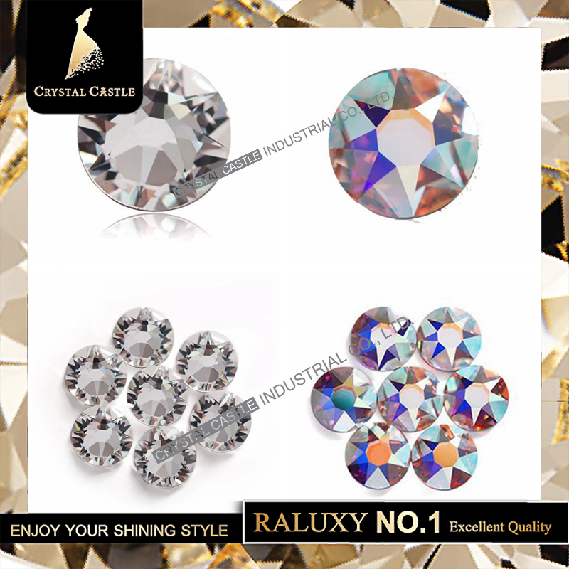 Detail Feedback Questions about All Size Upgrade 6A New Face Clear White AB  Glass Crystal Rhinestone Hot Fix Strass Iron On None Hotfix Rhinestones For  ... 1683d75bcf76